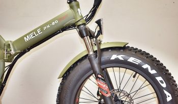MIELE Px-20 FAT Verde Opaco – pieghevole completo